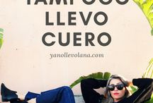 Ya No Llevo Lana Blog