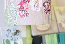 Lamp shades / Lanterns stitching