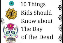 Day of the Dead/Día de los muertos / Find a variety of resources on Day of the Dead to use with your kids or students who are learning Spanish or about Mexican culture.