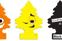 Little Tree Air Fresheners / A variety of Little Tree air fresheners to keep your vehicle smelling nice!