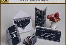 Set nunta Black