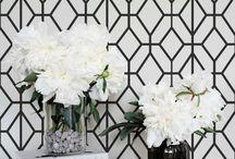 Wallpaper accent walls