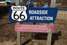 Route 66 / Route 66 is a favorite piece of history of mine I lived off Route 66 in Oklahoma.  / by Onlinenow LLC