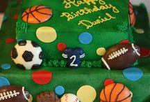 sports birthday cake for men 1