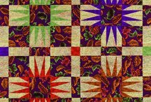 Facets of Color / This board features my quilts and other projects made using Kaffe Fassett fabrics