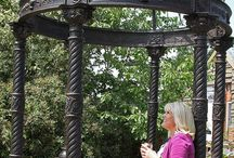 Gorgeous Garden Gazebos / Beautiful garden structures, create a secluded haven in your own grounds or a picture perfect moment on those special occasions