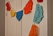 Crochet Bunting / vlaggetjes