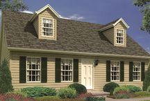 The Somerville Exterior / by Wayne Homes