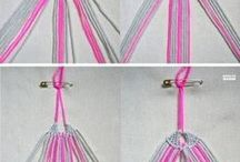 Macramé and knotted items