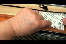 Lavori con macchina maglieria
