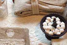 Bagno romantico ~ Spugna riccione biancheria e accessori per la casa