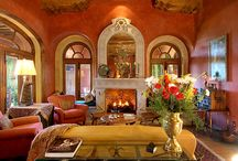 Casa Heyne / High atop a hill overlooking Parque Juarez: Casa Heyne, a masterwork of craftsmanship inspired by traditional Mexican churches, haciendas, and historic buildings.