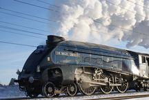 Parní lokomotivy