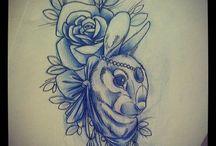 Tattoo Konijn