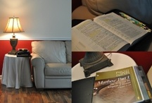 A Quiet Place / Show us how you curl up and spend time with Jesus and your Bible.