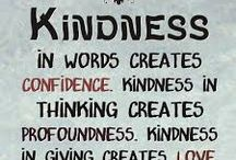 Kindness - Giving and Receiving