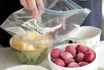 freezer cooking - meals and breakfast ideas