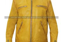 Dirk Gently's Holistic Detective Agency Yellow Jacket / Buy this newly design Dirk Gently Yellow Leather Jacket at most discounted price from Sky-Seller with free Shipping.