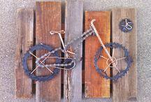 Fahrrad / Kette / Kunst