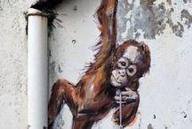 Arte callejero en 3d