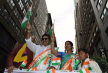 Our Leader Sarath Kumar leads America's largest India Day parade