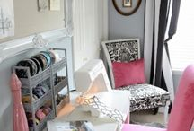 My Dream Sewing Room / How to make a Sewing and Craft room functional.