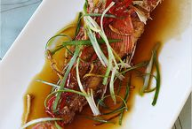 Fried fish with sauce - Tom Yum / by Dinh Phuong