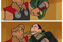 Funny avenger