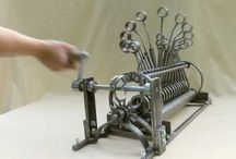 Kinetic art and sculptures