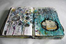Art journal-mixed media