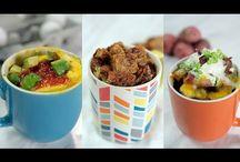 Mug Foods Cooked In Microwave