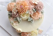 Cake decor Buttercream ideas