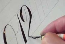graphics and calligraphy