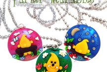 Polymer Clay Jewelry - Necklaces