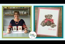 baby bear stamp instructions