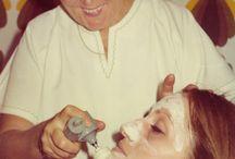 Facial Treatment - Past & Present