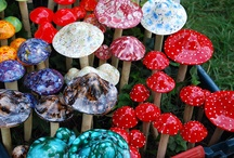 Colorful Mushrooms / by Andrea Williams