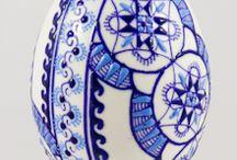 Uova decorate di PASQUA