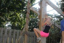 Backyard gym DIY