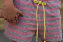 Wykroje dziecięce - krótkie spodenki
