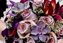 Mixed Jewel Tone Bouquets