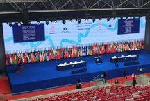 Spotkanie Rady Gubernatorów EBOiR w Warszawie / Komisarz UE ds. Rozszerzenia i Europejskiej Polityki Sąsiedztwa Štefan Füle był gościem, odbywającego się w Warszawie spotkania ponad 2 tysięcy bankierów, polityków i ekspertów Europejskiego Banku Odbudowy i Rozwoju.