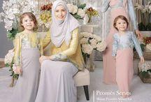 Gaun couple ibu & anak