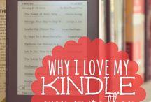Kindle / by Amanda Brazelton