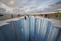 3-D Sidewalk Chalk / by Connie Carter