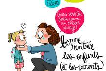 Messages et dessins humoristiques