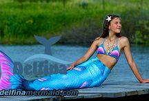 Mermaid's tails seria Queen of the Sea color Sea Topas