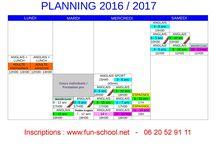 planning de rentrée