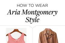 Aria Montgomery polyvore