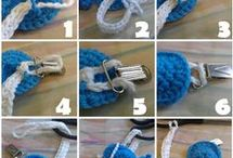 how to make a crochet pacifier
